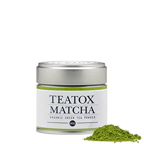 TEATOX Matcha, Bio Matcha Grüntee Pulver aus Japan, Ceremonial Grade