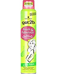 got2b Shampooing Sec Fresh/Fabulous Extra Fresh 200 ml