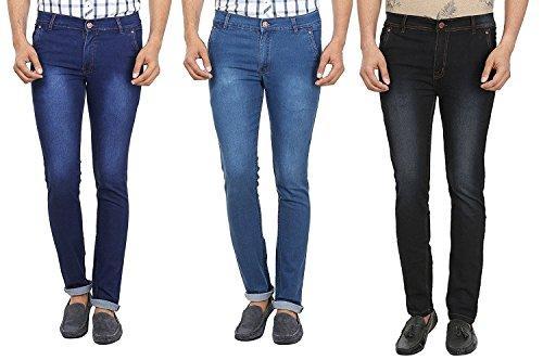 Magic Attitude Men's Jeans Pack of 3 (38)