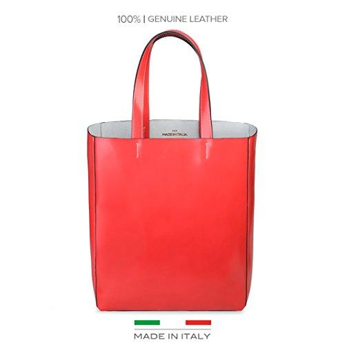 Made In Italia  Fosca, Damen Schultertasche rot