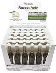 Sesiomworld PlacentForte Traitement antichute de cheveux Placenta et vitamines 36ampoules