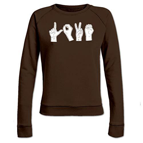 Shirtcity Schere Stein Papier Frauen Sweatshirt by