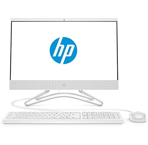 HP 22-c0052ng (21,5 Zoll Full HD Touch) All-in-One PC (AMD A6-9225, 8GB DDR4, 1TB HDD, Radeon R5 Grafik, Windows 10) weiß