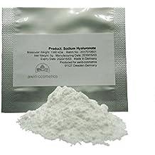 Ácido hialurónico polvo 5 G – 1380 KDA, para crema, gel, loción,