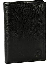 GRAND CLASSIQUE - Portefeuille en cuir noir N1282 - Portefeuille homme