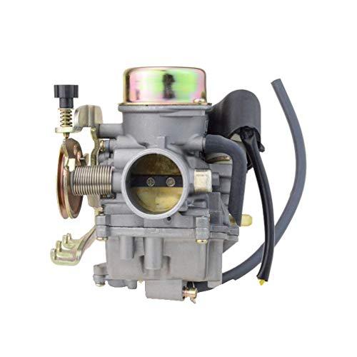 GOOFIT CVK30 Carburateur pour Linhai 260 scooter Moteur ATV avec chauffage  électrique Carburateur N090-138