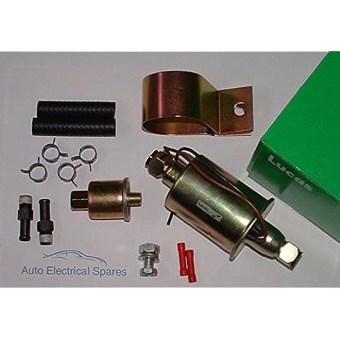 Lucas universale 12V pompa elettrica carburante (Spingere o tirare)