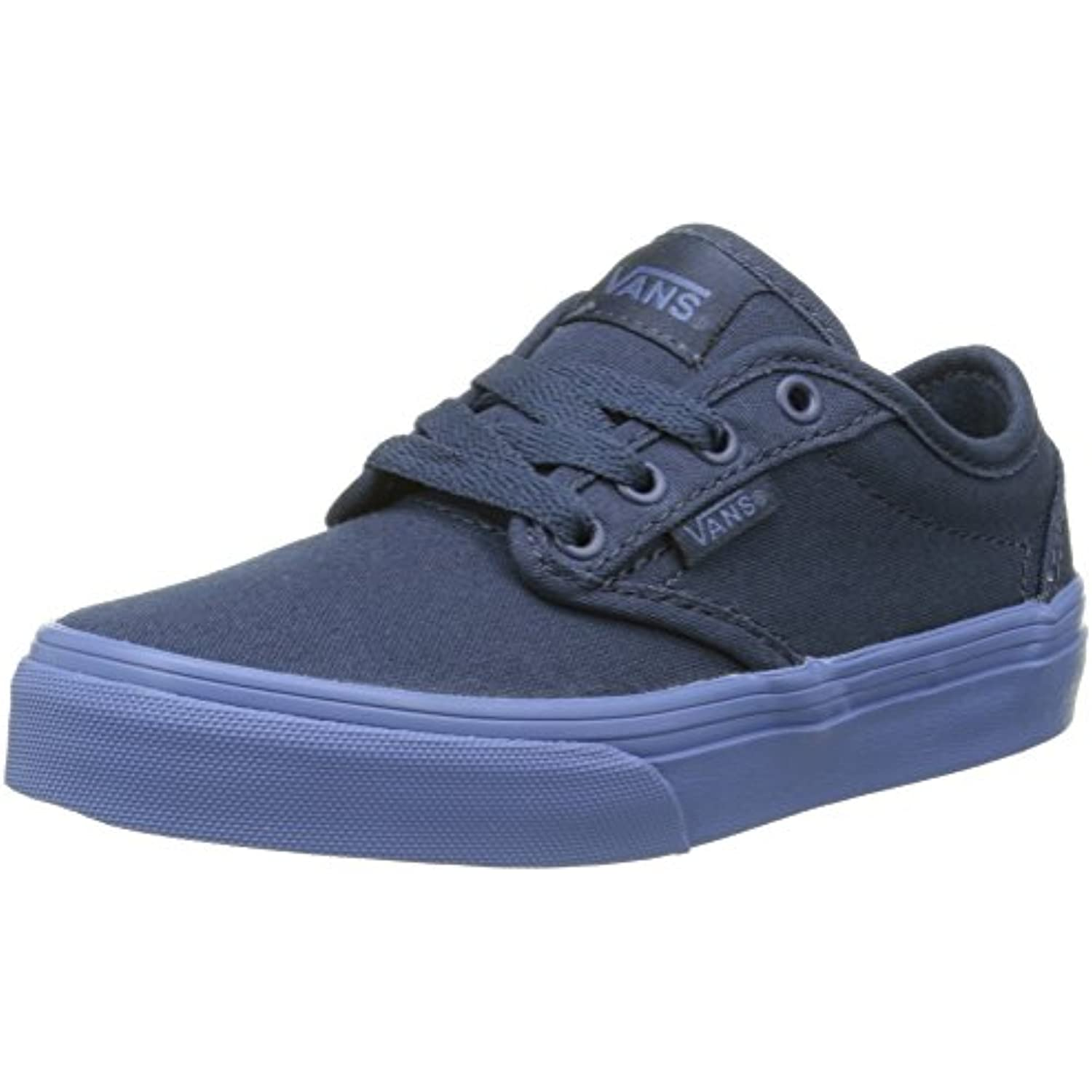 Vans Btwood - Scarpe da Ginnastica Basse Blues/Blue), Bambino, Blu (Check Liner/Dress Blues/Blue), Basse 32 EU Parent af4bfd