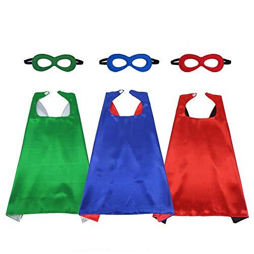 Capas y máscaras de superhéroe