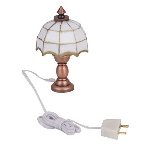 Decoracion de casa de munecas SODIAL Luz de luminaria de techo de bonito color en miniatura de casa de munecas Lamparas colgantes Lamparas colgantes R