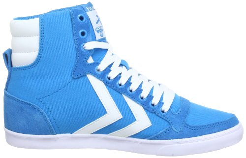 Hummel 63-111-8505, Baskets mode mixte adulte Bleu (Hawaiin/White 8505)