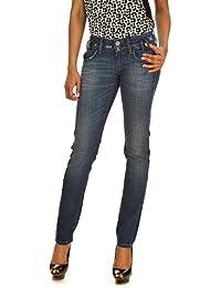 b84369795d4bfe Fornarina Damen Jeans Normaler Bund, NEW KITTY-STRETCH DENIM PANT  BIR1F81D521ND