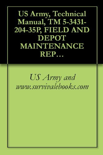 US Army, Technical Manual, TM 5-3431-204-35P, FIELD AND DEPOT MAINTENANCE REPAIR PARTS AND SPECIAL TOOL LISTS WELDING MACHINE, ARC GENERATOR, GASOLINE ... 3153-S) (3431-239-8186) (English Edition) - 3 Kw Single