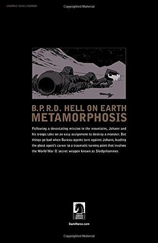 Bprd Hell On Earth 12 Metamorphosis