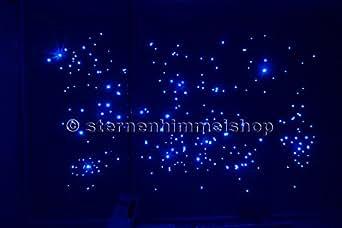 sternenhimmel led komplett set beleuchtung mit spr hkleber 240 lichtfasern 0 75 mm glasfaser. Black Bedroom Furniture Sets. Home Design Ideas
