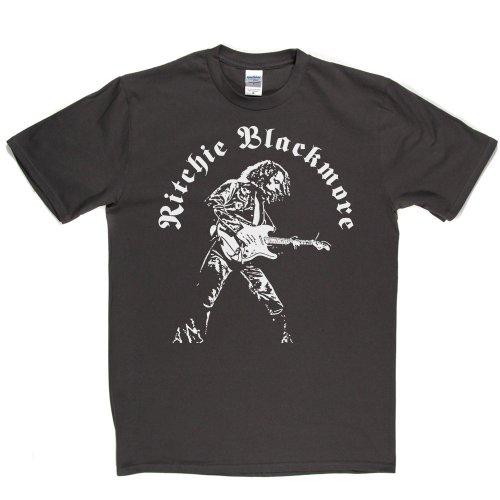 Ritchie Blackmore English Guitarist The Outlaws 2 T-shirt Grau