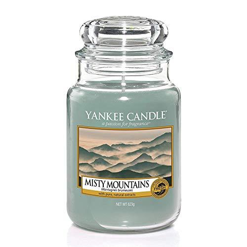 Yankee Candle große Duftkerze im Glas, Misty Mountains, Brenndauer bis zu 150Stunden