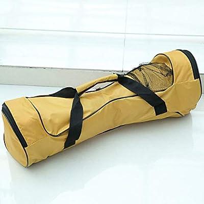 ZengBuks 6.5inch Portable Self Balancing Elektroroller Tragetasche 2 Räder Auto Balancing Hoverboard Handtasche wasserdichte Aufbewahrungstasche - Gelb - 6.5 Zoll