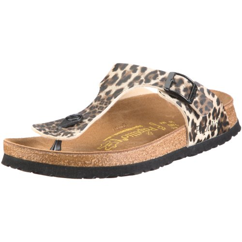 Papillio Gizeh Snake brown 268551, Zoccoli donna marrone scuro (Marrón)