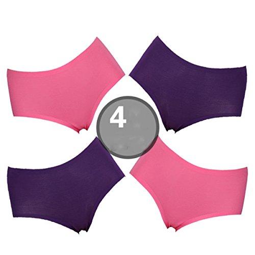Bikinihöschen Frauen Modal Gewebe In Der Taille Dreieck Baumwolle Packung Hip Hip Gesäss A1