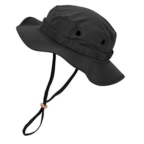 Black Snake Wasserdichter Boonie Hat Outdoor Hut L Schwarz Schwarze Outdoor Hut