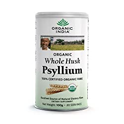 Whole Husk Psyllium is the seed husk of the herb Plantago ovata. Whole Husk Psyllium is a natural, bulk-forming dietary fiber. While conventional psyllium husk products offer high fiber, most of these crops are grown on conventional industrialized fa...