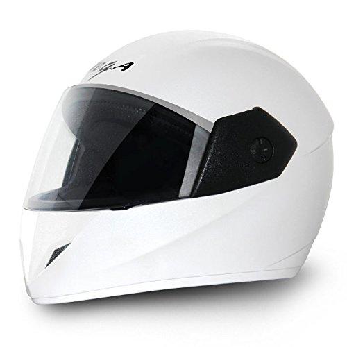 Vega Cliff CLF-LW-M Full Face Helmet (White, M)
