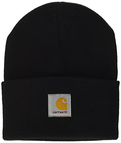Carhartt Unisex Fedora Acrylic Watch Hat Schwarz (Black), One size