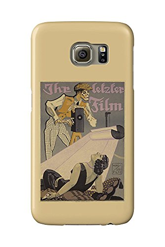 Ihr Film Poster (Ihr Letzter Film Vintage Poster (artist: Falkenbach, Joseph Felix) Germany c. 1920 (Galaxy S6 Cell Phone Case, Slim Barely There))