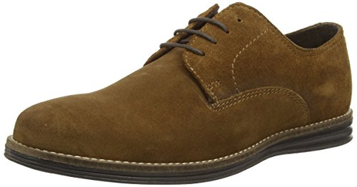 Red Tape - Medwin, Scarpe stringate basse derby Uomo Marrone (Marrone (Tan))