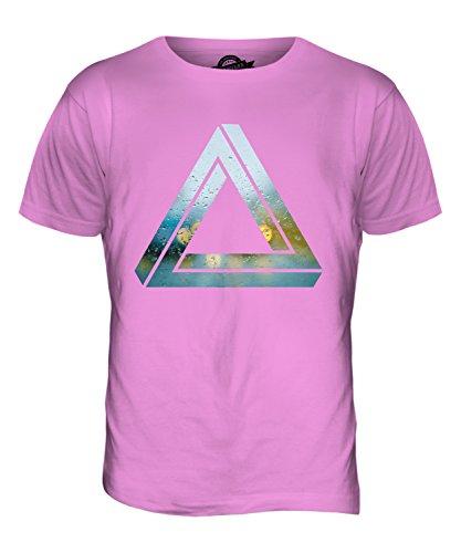 CandyMix Penrose-Dreieck Herren T Shirt Rosa