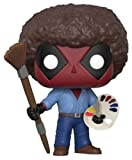 Funko 30865 Deadpool Playtime Bob Ross Actionfigur Marvel Playtime-70's mit Afro, Multi