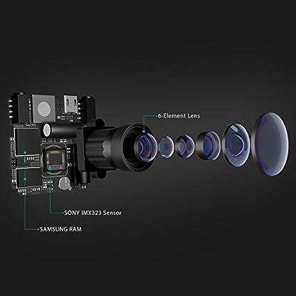 AUKEY-Dashcam-FHD-1080P-Autokamera-mit-170-Grad-Weitwinkel-Superkondensator-WDR-Nachtsicht-Kamera-fr-Auto-mit-G-Sensor-Bewegungserkennung-Loop-Aufnahme-und-Dual-Port-Kfz-Ladegert