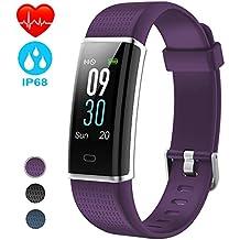 NAIXUES Pulsera Actividad Impermeable IP68, Pulsera Inteligente con Pantalla Color GPS Pulsómetro Monitor Ritmo Cardíaco
