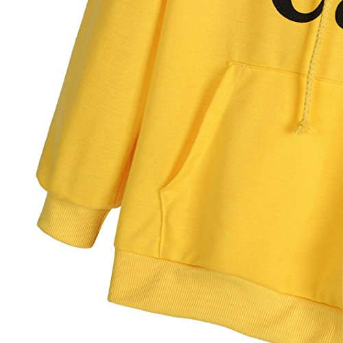 99native Sweat-shirt - Femme Noir noir Jaune
