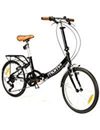 """Moma Bikes Bicicletta pieghevole, ruote da 20"""" Shimano, Alluminio"""