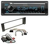 Kenwood KMM-BT305 MP3 AUX Bluetooth USB Autoradio für Audi A4 B6 00-04 Bose Aktivsystem Mini-ISO