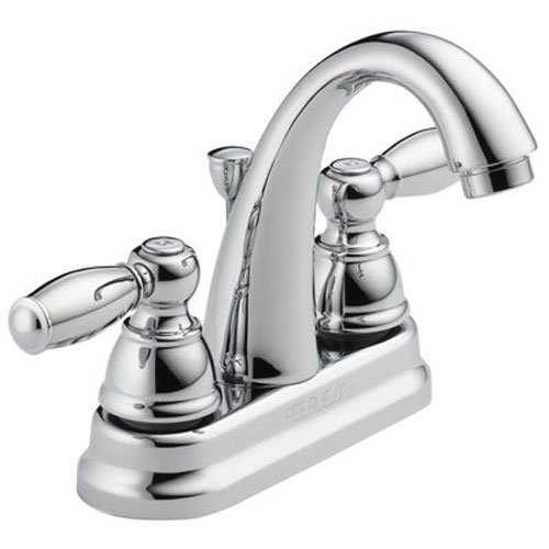 PEERLESS P299696LF APEX TWO HANDLE LAVATORY FAUCET  CHROME BY DELTA FAUCET