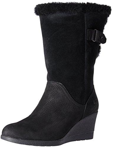Ugg - Bottes Roulées Pour Femme Noir (noir)