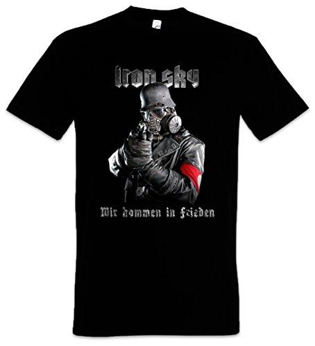 Iron Sky Soldier T-Shirt - Wehrmacht Soldat Glocke UFO Haunebu Vril Flugscheibe Größen S - 5XL (L)