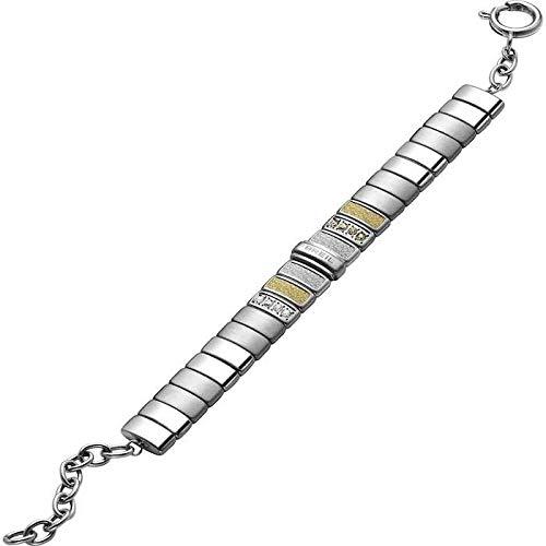 Breil bracciale donna collezione breilogy con pietre multiple in crystal jewellery