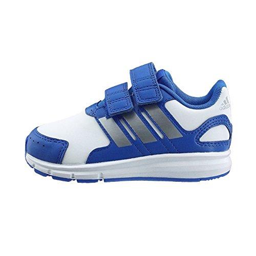Adidas Lk Sport Cf I Calzatura, Blu/Bianco/Argento, 23 Blu/Bianco/Argento