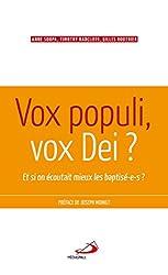 Vox populi, vox Dei ? : Et si on écoutait mieux les baptisé-e-s ?