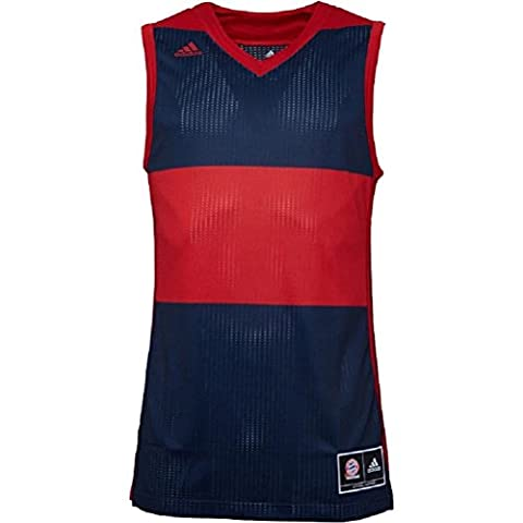 adidas Mens FCB Bayern Munich Third Swingman Basketball Jersey Collegiate