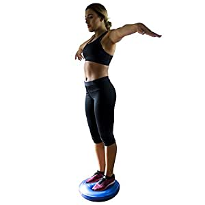Air Balance Stability Wobble Cushion 45cm - Improves Posture, Reduce Back Pain, ADHD, Balance Exercises, Build Ankle Strength and Core Stability, Training, Home, Gym, Workout - AB305507