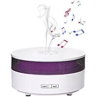 COOSA Aroma Mist ultrasuoni diffusore Bluetooth Speaker Colorful gradiente Speaker