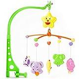 Babytintin Windup Sweet Cuddle Cot/Cradle Musical Rattle Set for Infants, Jumbo