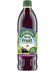 Robinsons Apple and Blackcurrant Squash No Added Sugar, 1 Litre