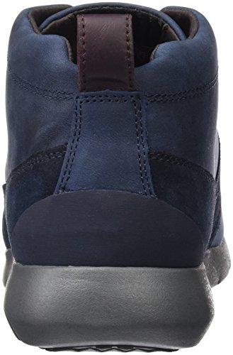 Geox U Gektor B Abx D, Sneakers Hautes Homme Blau (NAVYC4002)