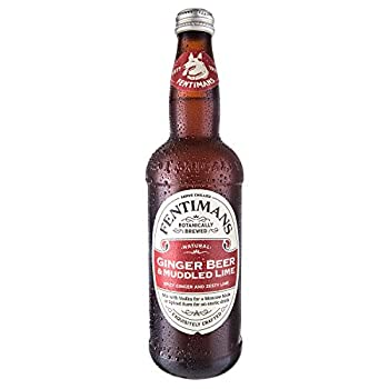 Fentimans Ginger Beer and Muddled Lime 8 x 500ml
